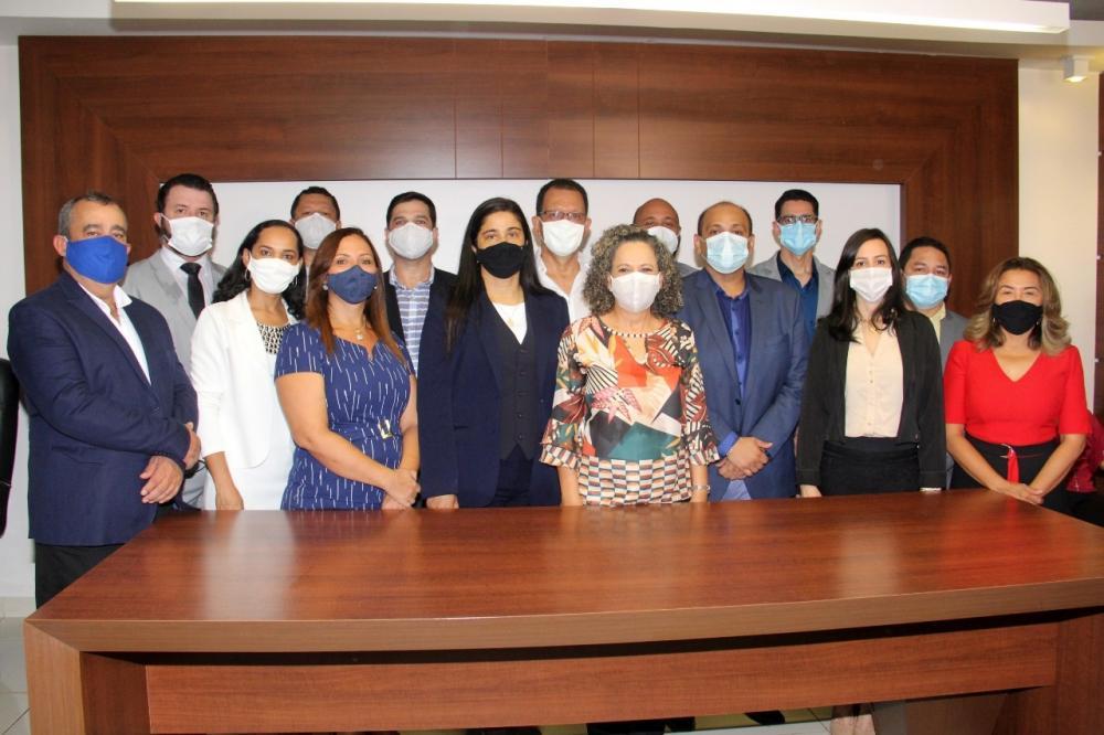 Secretários municipais e dirigentes de autarquias de Gurupi; - Foto: Lino Vargas
