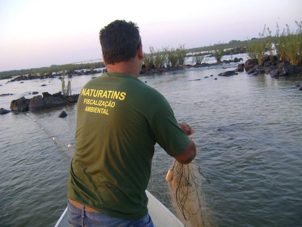 Naturatins manterá ações de fiscalização nos rios do Tocantins. Foto: Arquivo/Naturatins