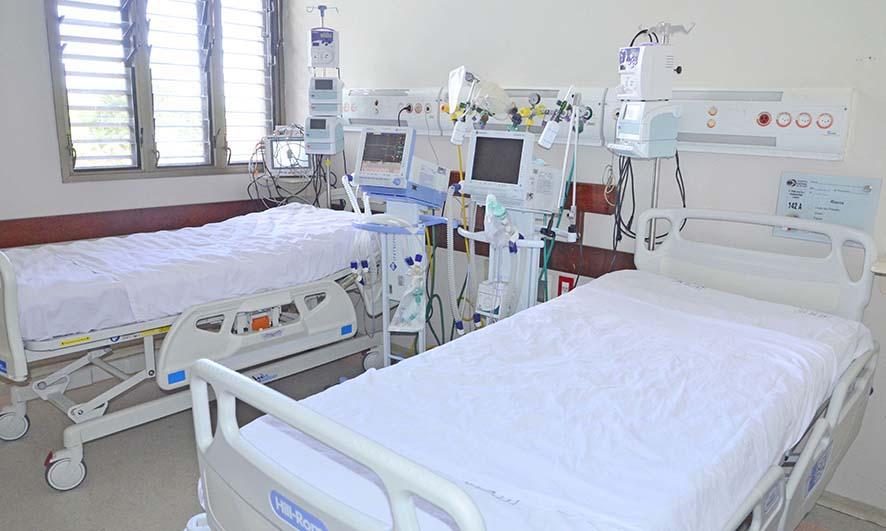 Mais 10 leitos de UTI Covid foram requisitados no Hospital Santa Thereza, em Palmas