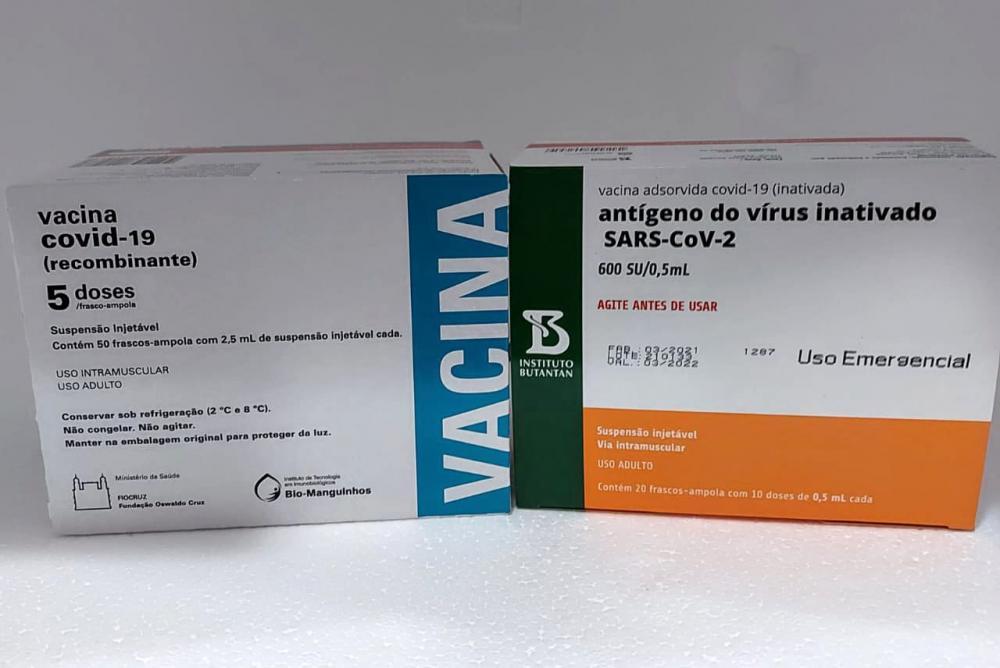 Esta é a 12ª remessa de doses enviadas pelo Ministério da Saúde ao Estado. Divulgação Saúde