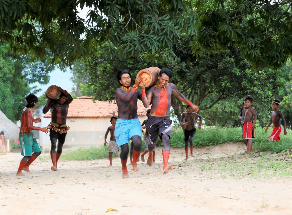 O Hetohoky é uma das festividades mais importantes e bonitas dos Karajá Emerson Silva/Governo do Tocantins