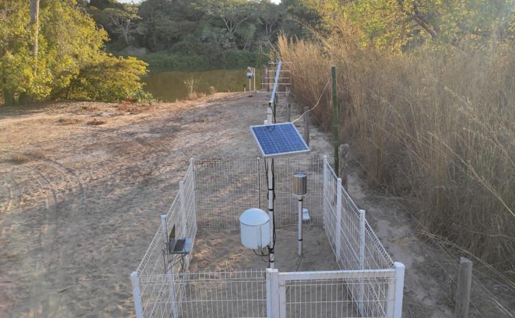 Atualmente são 47 PCD's instaladas, responsáveis pela captação de informações em tempo real sobre chuva, nível e vazão dos rios / Foto de Lorenzo Rigo