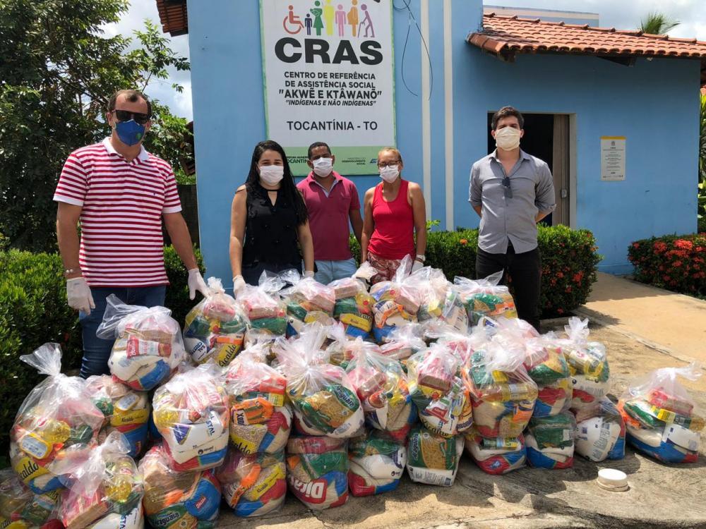 A entrega das cestas será acompanhada pela equipe multiprofissional do Centro de Referência de Assistência Social (Cras), de Tocantínia.
