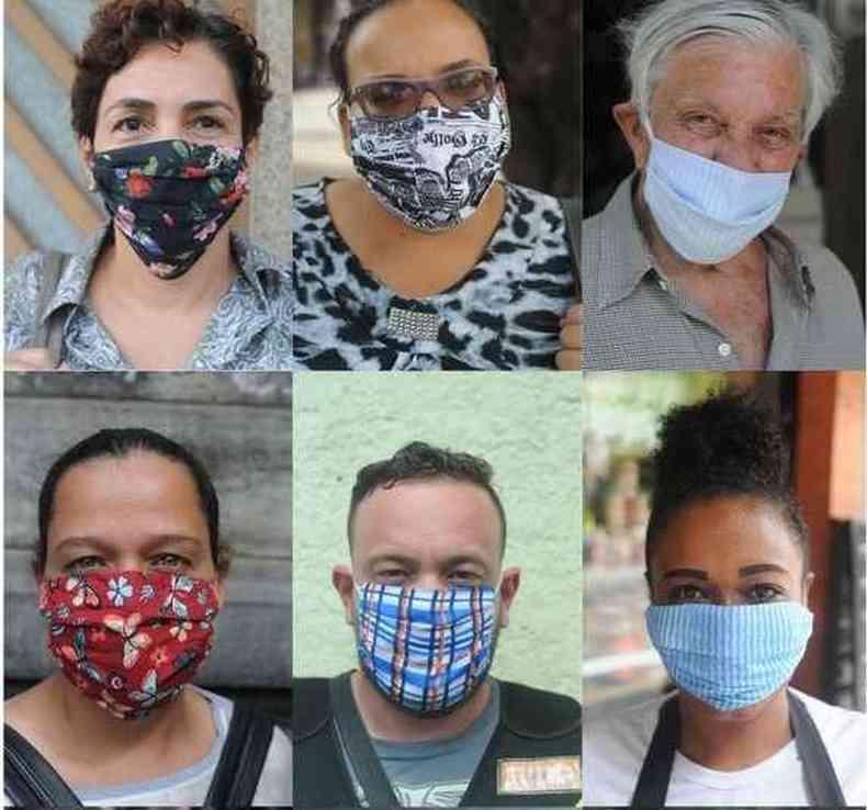 Uso de máscaras: atitude defensiva e eficaz / imagem ilustrativa